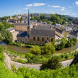 Royalty-Free Stock Photo: Luxembourg panoramic view