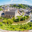 Luxembourg panoramic view — Stock Photo