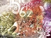 Retro Postcard — Stock Photo