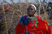Mujeres masai — Foto de Stock