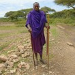 Masai man - Stock Photo