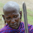 Masai warrior — Stock Photo