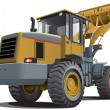 Royalty-Free Stock Vector Image: Front end loader
