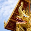 Royalty-Free Stock Photo: Golden dragon