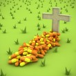 Pharmaceutical grave - Stock Photo