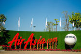 Exposition of AirAsia — Stock Photo