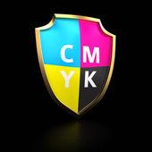 CMYK palette — Stock Photo