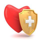 Heart protection — Stock Photo