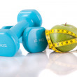 Fitness equipment — Stock Photo