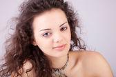 Brunette portrait — Stock Photo