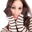 Beautiful woman dressed for winter — Stock Photo #11232061