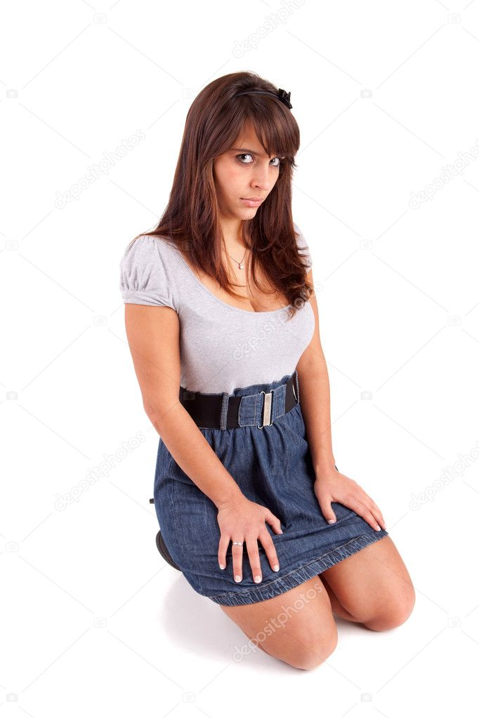 Beautiful woman posing full body — Stock Photo #11232149