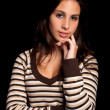 Young and beautiful woman portrait — Stock Photo