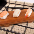 Sushi pieces — Stock Photo
