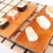 Stock Photo: Sushi pieces
