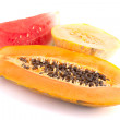 Papaya, melon and watermelon — Stock Photo #11253882