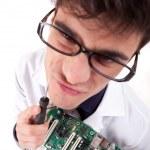 Computer Engineer — Stock Photo #11254320