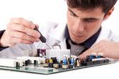 Ingeniero en computación — Foto de Stock