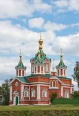 Cathedral of the Assumption nunnery, city Kolomna, Moscow area — Stock Photo
