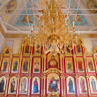 Interior of the Orthodox temple, city Suzdal, Russia - Zdjęcie stockowe