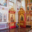 Interior of the Orthodox temple, city Suzdal, Russia — Stock Photo