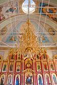 Interior del templo ortodoxo, ciudad suzdal, rusia — Foto de Stock
