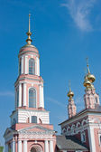 Church of Archangel Mikhail and Flora and Lavra, city Suzdal, Ru — ストック写真