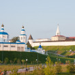 Beautiful landscape with a kind on Kremlin, city Kazan, Russia — Stock Photo #11604002