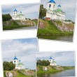 Suburb church on the river Chusovaya, Perm edge — Stock Photo