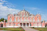 Peter travel palace on Leningrad boulevard, city Moscow, Russia — Stock Photo