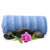 Spa concept. Towel roll. — Stock Photo