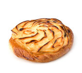 вкусный сладкий крем булочка — Стоковое фото