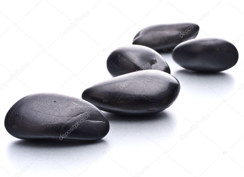 Zen pebbles. Stone spa and healthcare concept. — Stock Photo #10934768