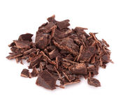 Chopped chocolate bars — Stock Photo