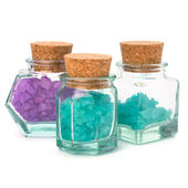 Aromatic natural mineral salt — Stock Photo