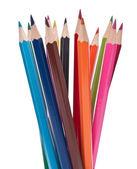 Colouring crayon pencils — Stockfoto