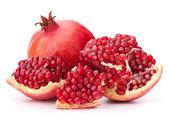 Ripe pomegranate fruit — Stock Photo