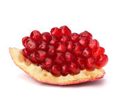 Ripe pomegranate piece — Stock Photo
