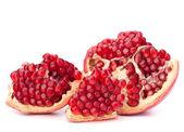 Broken pomegranate segment — Stock Photo