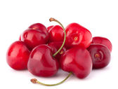 Cherry berries pile — Stock Photo