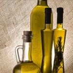Постер, плакат: Olive oil bottles