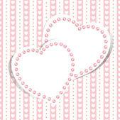 Sfondo amore matrimonio — Vettoriale Stock