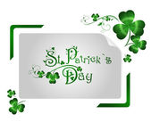 St.Patrick day greeting — Stock Vector