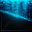 Abstract glowing background - Stockvektor