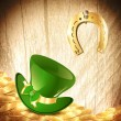 Royalty-Free Stock Vector Image: St.Patrick holiday background
