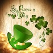 St.Patrick holiday background — Stock Vector