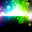 Abstract glowing background — Stock Vector