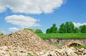 Colina pedras — Foto Stock