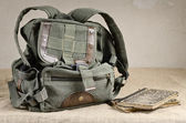 Backpack — Stockfoto