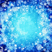 Winter abstract frozen background — Stock Vector